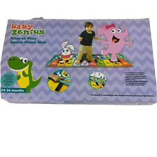 Baby Genius Step-to-Play Jr PIANO MAT Toddler Toy 24-36 Months New