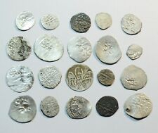 LOT OF 20 ANCIENT ISLAMIC SILVER COINS - 01