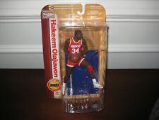 MCFARLANE NBA LEGENDS 5 HAKEEM OLAJUWON RED JERSEY HOUSTON ROCKETS