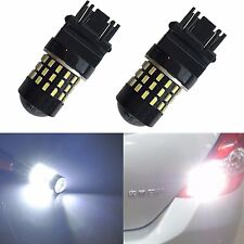 JDM ASTAR 54-SMD 3157 3156 White LED Turn Signal Brake Tail Parking Backup Light