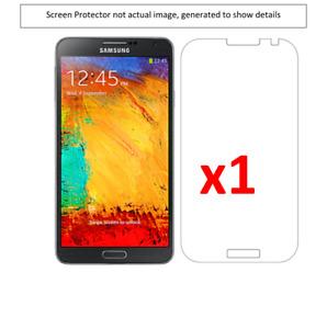 1x Samsung Note 3 Anti-Scratch Screen Protector w/ cloth