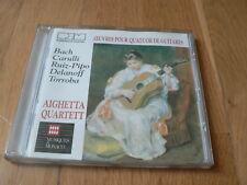 Aighetta Quartet - Bach, Carulli, Ruiz-Pipo, Delanoff, Torroba -Quatuor Guitares