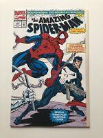 The Amazing Spider-Man #358 (Jan 1992, Marvel) Vintage The Punisher High Grade