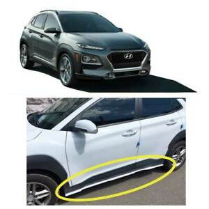 Side Lip Lower Body Kit 2p for 2018 2020 Hyundai Kona