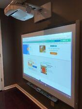 Interactive Smart Board SB680 and Epson Short throw projector BrightLink 475W