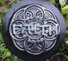 Faith stepping stone mold abs heavy duty garden plaster concrete mould