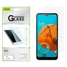 LG Reflect K51 Tempered Glass Screen Protector Shockproof Premium Guard Clear