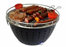 Tabletop Outdoor Charcoal Grills With Carrying Bag Outdoor Cooking Accessory New