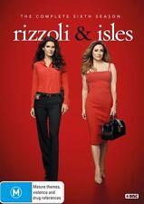 Rizzoli and Isles: Season 6 NEW DVD (Region 4 Australia)