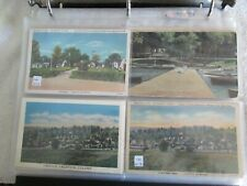 Vintage Postcard Album with 100+ cards, some hand colored, 20 over 100 yrs old
