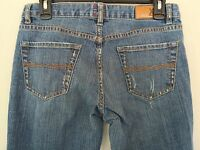 X2 Express Womens Flare Leg Jeans Size 31W / 6 Stretch Blue Denim EQ544