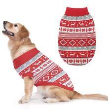 New listing Fair Isle Christmas Dog Sweater-Large New
