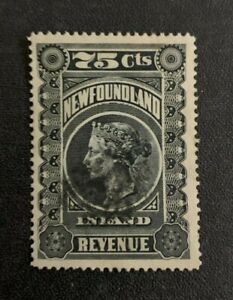 Newfoundland Revenue Stamp #NFR5 Used