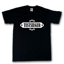Funshirt T-Shirt schwarz Testsieger 100% Cotton S-XXXXXL
