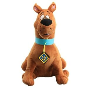 Animal Scooby Doo Dog Plush Toy Cartoon Soft Stuffed Doll Cute Kids Xmas 35cm