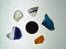 Assorted Surf Tumbled Sea Glass Lot 2016