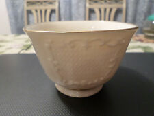 Lenox Porcelain Bowl Hand Decorated with 24K