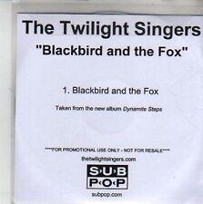 (CH618) The Twilight Singers, Blackbird And The Fox - DJ CD