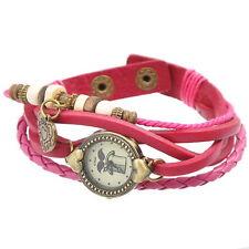 5 Montres Bracelet Coeur Bouton pression Fashion Fait à la main 20cm B30596