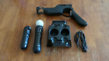 PS3 PS4 Move Controller and Navigation, Charger and Gun Grip