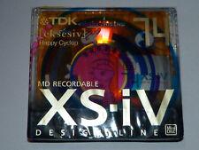 "1 x TDK XS - IV - Minidisc - MD-XS74AAEA  ( eksesiv)  ""Happy Cyclop""  - in OVP !"