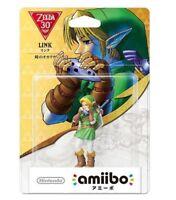Amiibo Link The Legend of Zelda Ocarina of Time Japan Nintendo 3DS Wii U F/S