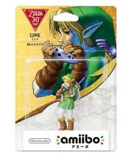 Amiibo Link The Legend of Zelda Ocarina of Time Japan Nintendo 3DS Wii U F/S