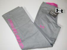 Under Armour ColdGear Storm Girls Graphic Fleece Lined Athletic Sweat Pants Yxl