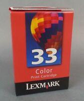 Color Print Cartridge Lexmark 33 Printer 18C0033