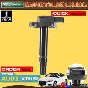Ignition Coil for Audi A3 8L A6 A8 4D2 S3 S6 4B2 C5 S8 TT 8N 1.8L 4.2L 1998-2005