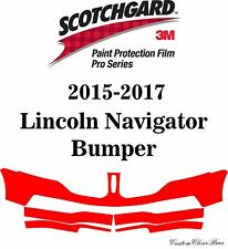 3M Scotchgard Paint Protection Film Pro Series 2015 2016 2017 Lincoln Navigator