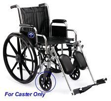 "Medline Excel 2000 Wheelchair Parts 8"" Front Caster Non-Marking C81B-SP8 2 pcs"