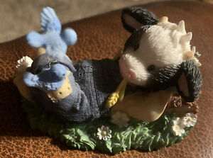 """Mary's Moo Moos 468851 """"He Makes Me Lie Down In Green Pastures"""" 1998"""