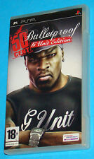 50 Cent Bulletproof - G Unit Edition - Sony PSP - PAL