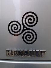 Odin Triskele nórdico dioses paganos Mitos stickers/car/van / bumper/window/decal 5121