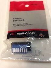 8-position DIP Switch #275-1301 By RadioShack