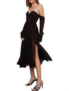 BEC + BRIDGE Beautiful Stranger Midi Dress Size 6