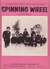 Spinning Wheel - Blood, Sweat & Tears - 1969 Sheet Music