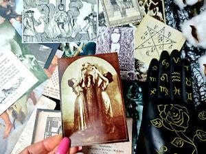 50 Witchcrafts Ephemera Magic Witch Spell Halloween Ephemera Junk Journals