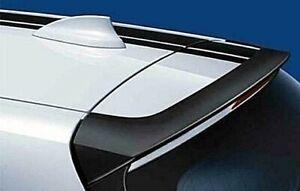 Rear Tailgate Spoiler Matt Black Genuine BMW 1 Series F20 M Perf. 51622211888