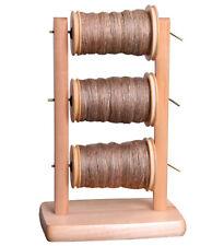 LAZY KATE / Bobbin Holder  Ashford  for spinning wheels - 3 bobbins included