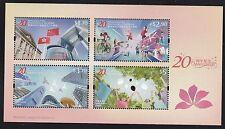 Hong Kong 20th Anniversary of HKSAR souvenir sheet MNH 2017