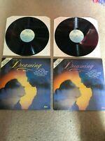 "DREAMING - VOL 1 & VOL 2 Various - Abba K-Tel  NE1159 1982 12"" VINYL LP"