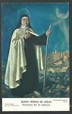 estampa antigua de Santa Teresa andachtsbild santino holy card santini