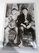 REF 414 Cartel Placa Metal 20X30CM 150gr - Laurel and Hardy Gordo / flaco