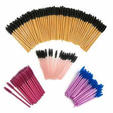 Disposable Eyelash Brushes Mascara Wands Eyebrow Castor Tool Oil Brush Makeup