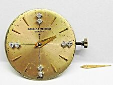 Antique Lds Baume and Mercier Watch Movement 17 mm, 17 jewels. #2512.