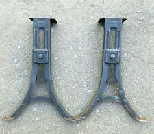 Vintage Heywood Wakefield Large Pressed Steel Adjustable Legs