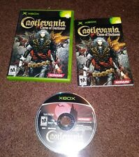 Castlevania Curse of Darkness Microsoft Xbox Video Game Complete Mint Freeship