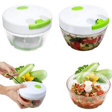 Kitchen Fruit Vegetable Onion Garlic Cutter Food Speedy Chopper Spiral Slicer